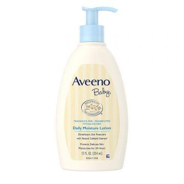 Best Baby Lotions in Singapore - Aveeno Baby Daily Moisture Lotion