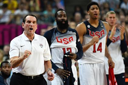 Krzyzewski helped guide the U.S. to the gold medal at the World Cup of Basketball. (Getty Images)