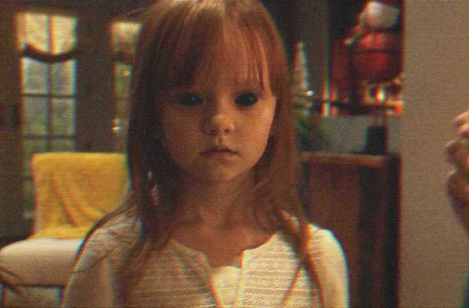 <p>After she moves into a new house with her parents in this fall's horror sequel 'Paranormal Activity — The Ghost Dimension,' little Leila (played by Ivy George) starts talking to an imaginary friend named Toby. But we soon realize: Toby's no friend at all. (Photo: Everett)<br></p>