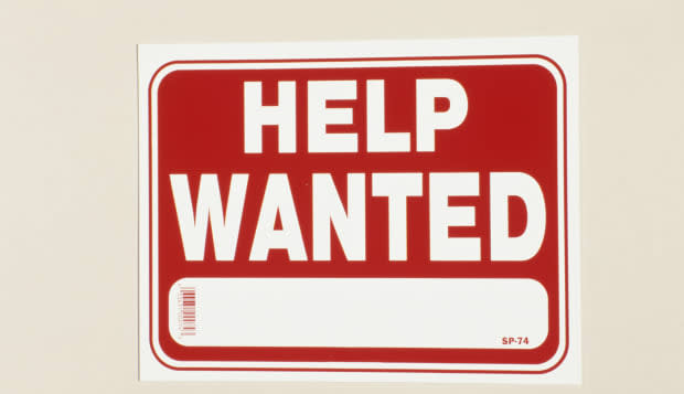 Help wanted sign