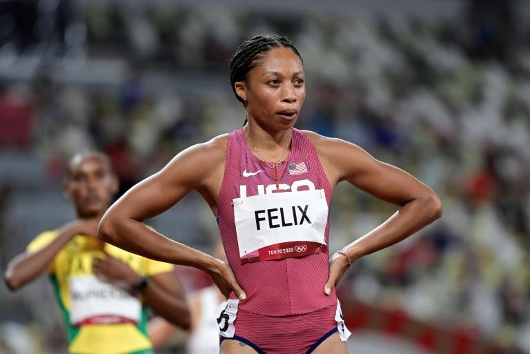 Allyson Felix is bidding for a record-breaking 10th Olympic medal