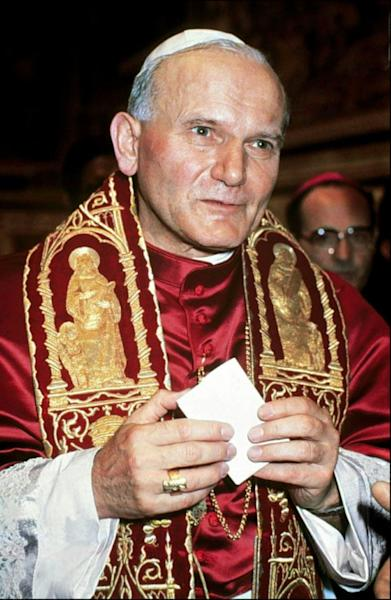 Polish cardinal Karol Wojtyla, elected pope by 111 cardinals, becomes John Paul II on October 16, 1978, at the Vatican