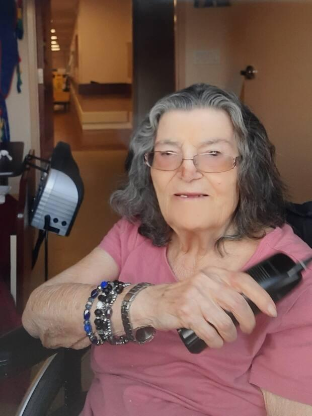Guiseppa DeBlasio, 91, has been a resident at Chartwell's Wenleigh Long Term Care Residence in Mississauga for about a decade.