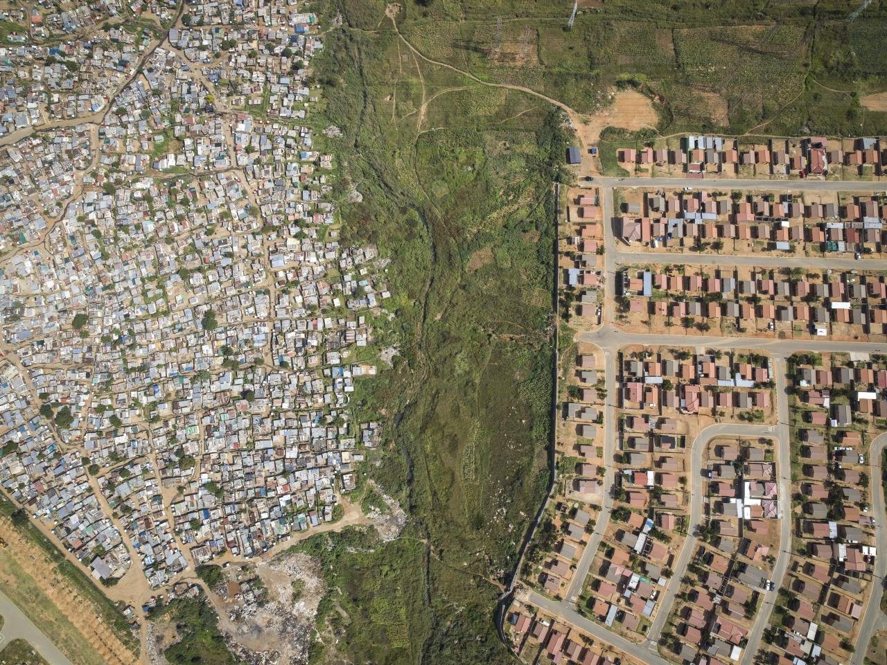 <p>Thembisa, Johannesburg, South Africa, 2018. (Photograph by Johnny Miller/Caters News) </p>