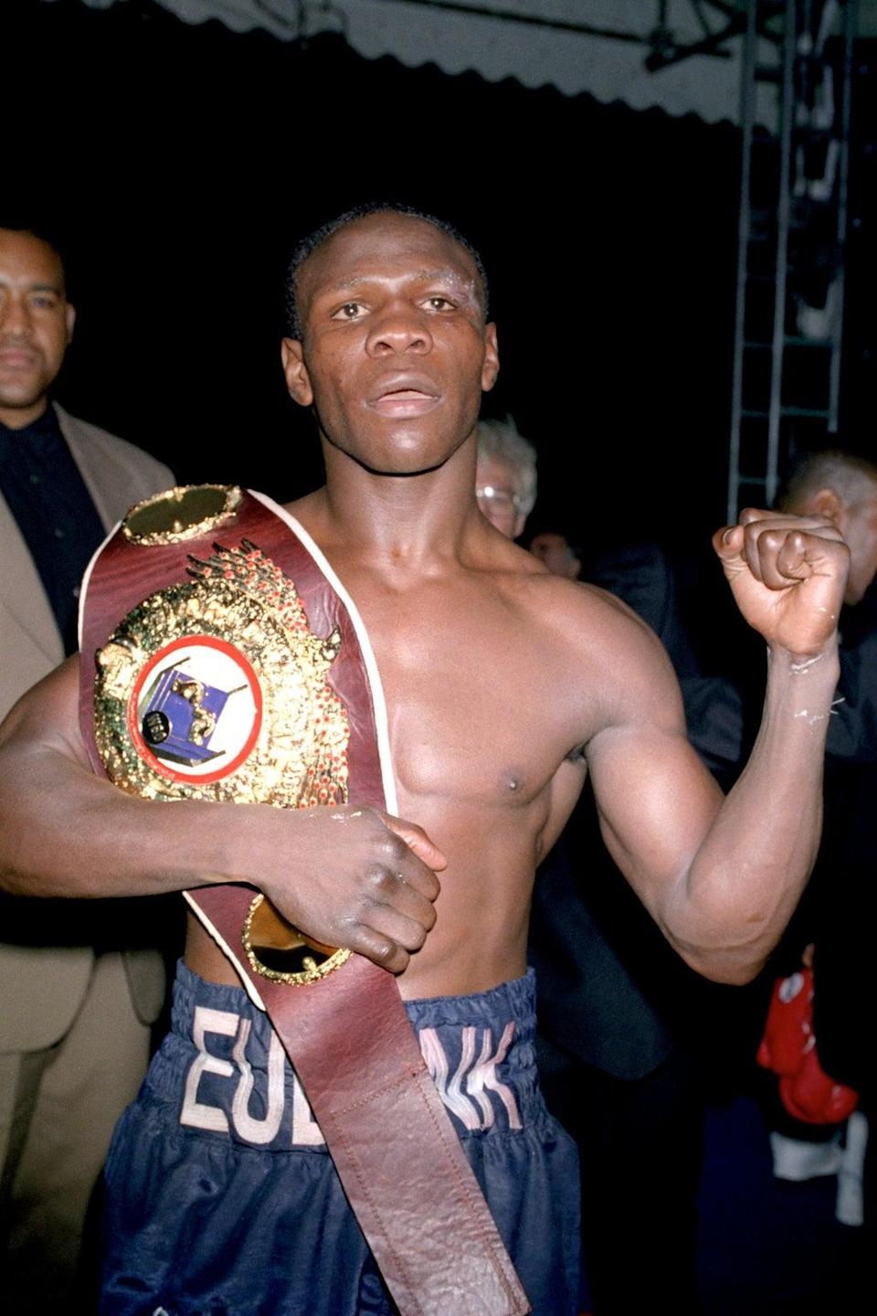 Eubank in his boxing heyday (PA Archive/Press Association Images)
