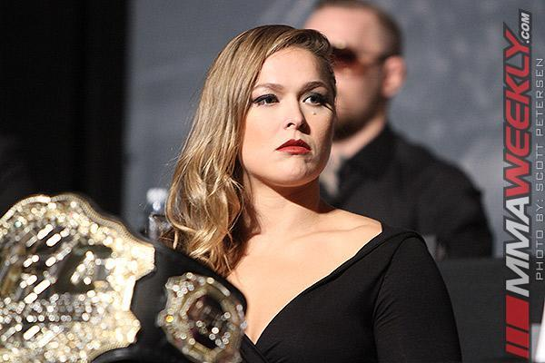 Brock Lesnar, Mike Tyson and Holly Holm React to Ronda Rousey's Suicide Comment