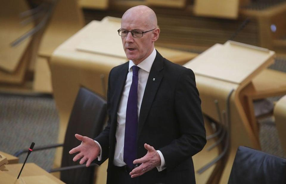 The Deputy First Minister said they were 'absolutely committed' to passing the Bill (Fraser Bremner/Scottish Daily Mail/PA) (PA Wire)