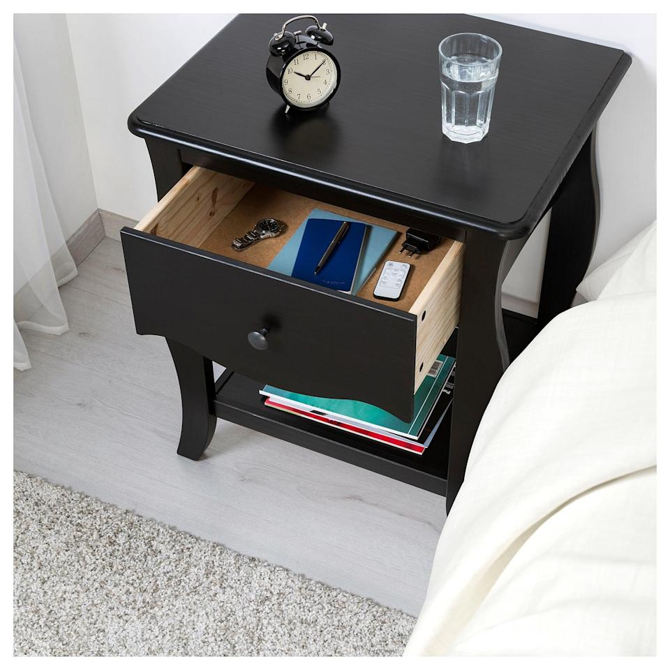 <p>Enjoy the charming character that the <span>Hasselvika Nightstand</span> ($129) brings to your room. </p>