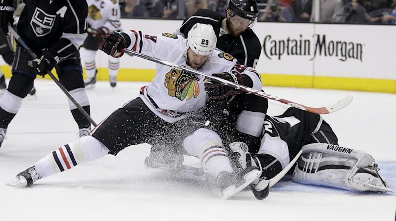 Cup final spot hinges on Game 7 for Chicago, Kings