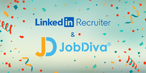 JobDiva and LinkedIn Recruiter have integrated for client success.