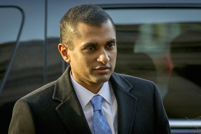 Former SAC Capital portfolio manager Martoma arrives at Manhattan Federal Courthouse in downtown Manhattan in New York