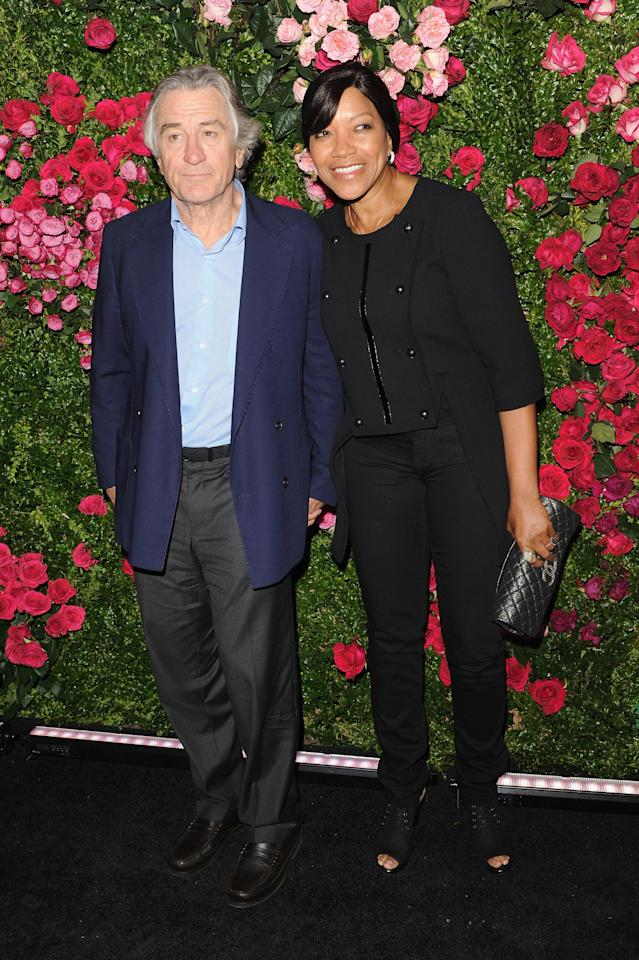NEW YORK, NY - APRIL 24:  Robert De Niro, Co-Founder Tribeca Film Festival and Grace Hightower attend the Chanel Artist Dinner during the 2012 Tribeca Film Festival at the The Odeon on April 24, 2012 in New York City.  (Photo by Craig Barritt/Getty Images)