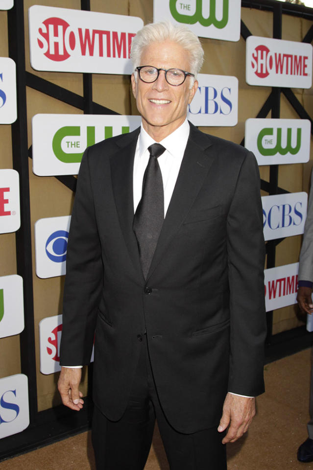 """Ted Danson (""""CSI: Crime Scene Investigation"""") attends The CW, CBS, and Showtime 2013 Summer TCA Party on July 29, 2013 in Los Angeles, California."""