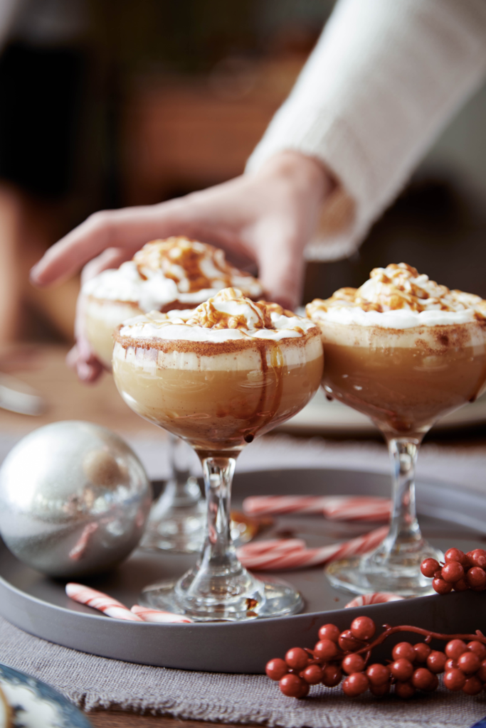 """<p>Everyone's favorite holiday drink gets boozy and a little spicy.</p><p>Get the recipe from <a href=""""https://www.delish.com/holiday-recipes/christmas/recipes/a45175/gingerbread-eggnog-white-russian-recipe/"""" rel=""""nofollow noopener"""" target=""""_blank"""" data-ylk=""""slk:Delish"""" class=""""link rapid-noclick-resp"""">Delish</a>.</p>"""