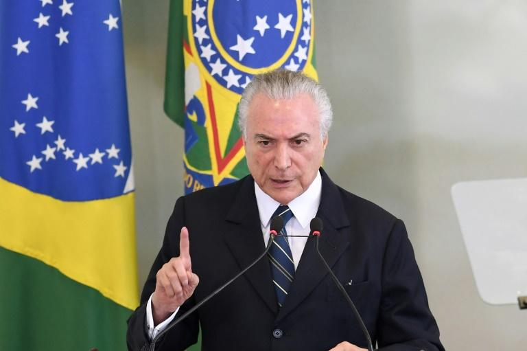 Brazil president formally accused of conspiracy against corruption inquiry