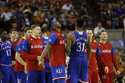 The Jayhawks are the team to beat in the Big 12 tournament. (Getty)