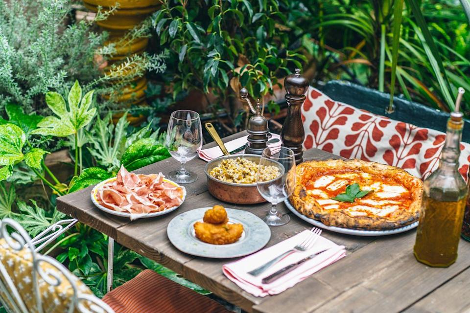 <p>The cult eatery is reopening on April 12 with its plant-filled, sun-drenched Fitzrovia terrace, along with new dishes to compliment the menu...</p>