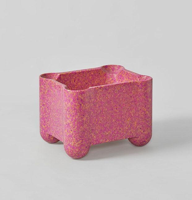 """Whether you use them as plant pots, side tables, or catchalls for odd and ends, these playful Afterlife crates by the green-thinking folks behind Supernovas (designed by Odd Matter) are sure to zhuzh up any interior. Because they're made from recycled plastic such as PET bottles, discarded toys, and water pipes, the color ranges (granite-like grey, electric blue) will change throughout the year depending on the waste streams available. Better yet, when your interior is ready for a redo, you can return the crates or swap them for a different color. $485, Supernovas. <a href=""""https://supernovas.world/product/crate/"""" rel=""""nofollow noopener"""" target=""""_blank"""" data-ylk=""""slk:Get it now!"""" class=""""link rapid-noclick-resp"""">Get it now!</a>"""