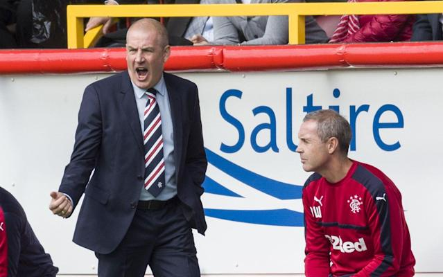 <span>Warburton and Weir claim they were forced out at Rangers</span> <span>Credit: rex features </span>