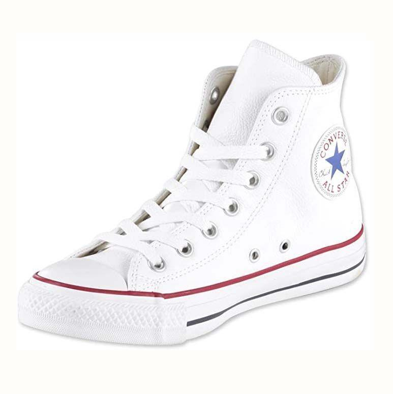 "<p><strong>Converse</strong></p><p>amazon.com</p><p><strong>$115.97</strong></p><p><a href=""https://www.amazon.com/dp/B006OCARJM?tag=syn-yahoo-20&ascsubtag=%5Bartid%7C10055.g.36201118%5Bsrc%7Cyahoo-us"" rel=""nofollow noopener"" target=""_blank"" data-ylk=""slk:Shop Now"" class=""link rapid-noclick-resp"">Shop Now</a></p><p>Converse high top sneakers continue to stay in fashion year after year (even decade after decade!). These sneakers lace up over your ankle, <strong>providing more ankle stability too. </strong>Made with 100% leather, these sneakers are easier to keep clean than canvas styles. </p>"