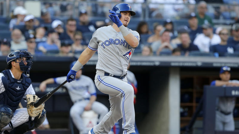 Jays' McGuire arrested for 'exposure of sexual organs'