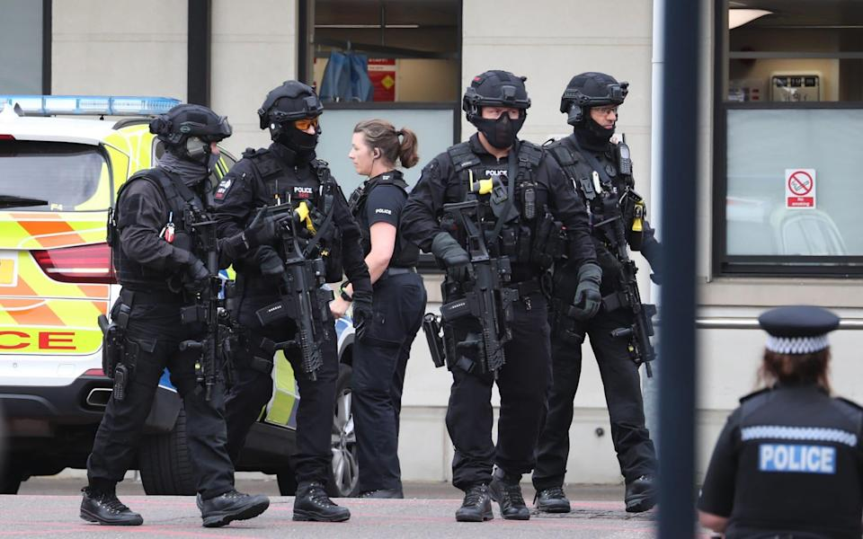 There are around 6,500 armed officers in England and Wales - PA