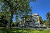 Reagan and Gorbachev met in the Villa Fleur d'Eau, a late 19th-century mansion on the shores of Lake Geneva that is currently up for sale