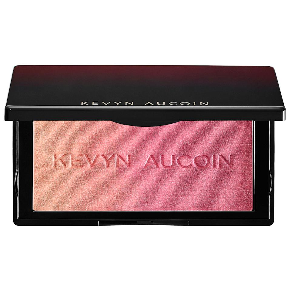 "<p><strong>KEVYN AUCOIN</strong></p><p>sephora.com</p><p><strong>$38.00</strong></p><p><a href=""https://go.redirectingat.com?id=74968X1596630&url=https%3A%2F%2Fwww.sephora.com%2Fproduct%2Fthe-neo-blush-P430965&sref=https%3A%2F%2Fwww.womenshealthmag.com%2Fbeauty%2Fg34978077%2Fbest-blush%2F"" rel=""nofollow noopener"" target=""_blank"" data-ylk=""slk:Shop Now"" class=""link rapid-noclick-resp"">Shop Now</a></p><p>Okay so, this compact is straight-up gorgeous. It transitions from a light, peach-y hue to a darker pink, which means that you can either blend them all together on your face or switch it up with single colors as you please. </p>"