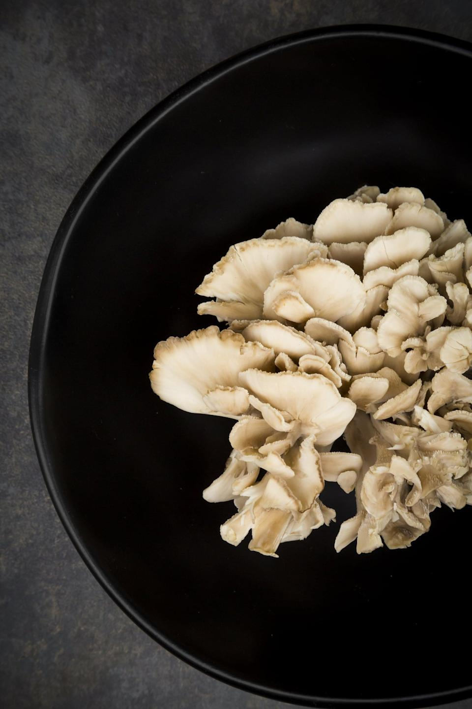 "<p>Maitake mushrooms are a delicious addition to pizza, stir-fry, and soup, but they aren't just beneficial because of the umami flavor they add to dishes. Data suggests that <a href=""https://pubmed.ncbi.nlm.nih.gov/21034160/"" class=""link rapid-noclick-resp"" rel=""nofollow noopener"" target=""_blank"" data-ylk=""slk:consumption of maitake mushroom extract may support ovulation"">consumption of maitake mushroom extract may support ovulation</a> in some people with a PCOS diagnosis. Mushrooms in general can be an antioxidant-rich addition to many meals.</p>"