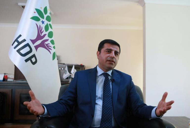 Selahattin Demirtas worked as a human rights lawyer before moving into politics