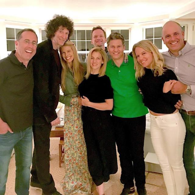 "<p>The multihyphenate would later celebrate his husband's birthday, but Sunday night was all about hanging with friends.<br> ""Jerry Seinfeld, the Count of Comedy, invited us over last night to dine with Howard Stern, the King of All Media, Johnny Muse, the Lord of the Hamptons, and their equally royal and impressive spouses,"" he wrote. ""Delicious food, inspired conversation, and genuine friendship. It was a night we'll remember for a long time. #thanks #grateful #goodtimes."" (Photo: <a href=""https://www.instagram.com/p/BUsHVeKhrjv/?hl=en"" rel=""nofollow noopener"" target=""_blank"" data-ylk=""slk:Neil Patrick Harris via Instagram"" class=""link rapid-noclick-resp"">Neil Patrick Harris via Instagram</a>) </p>"