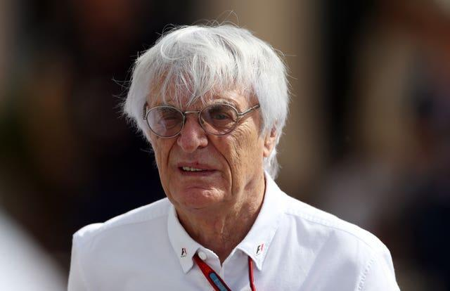 Bernie Ecclestone, pictured, has paid tribute to Max Mosley