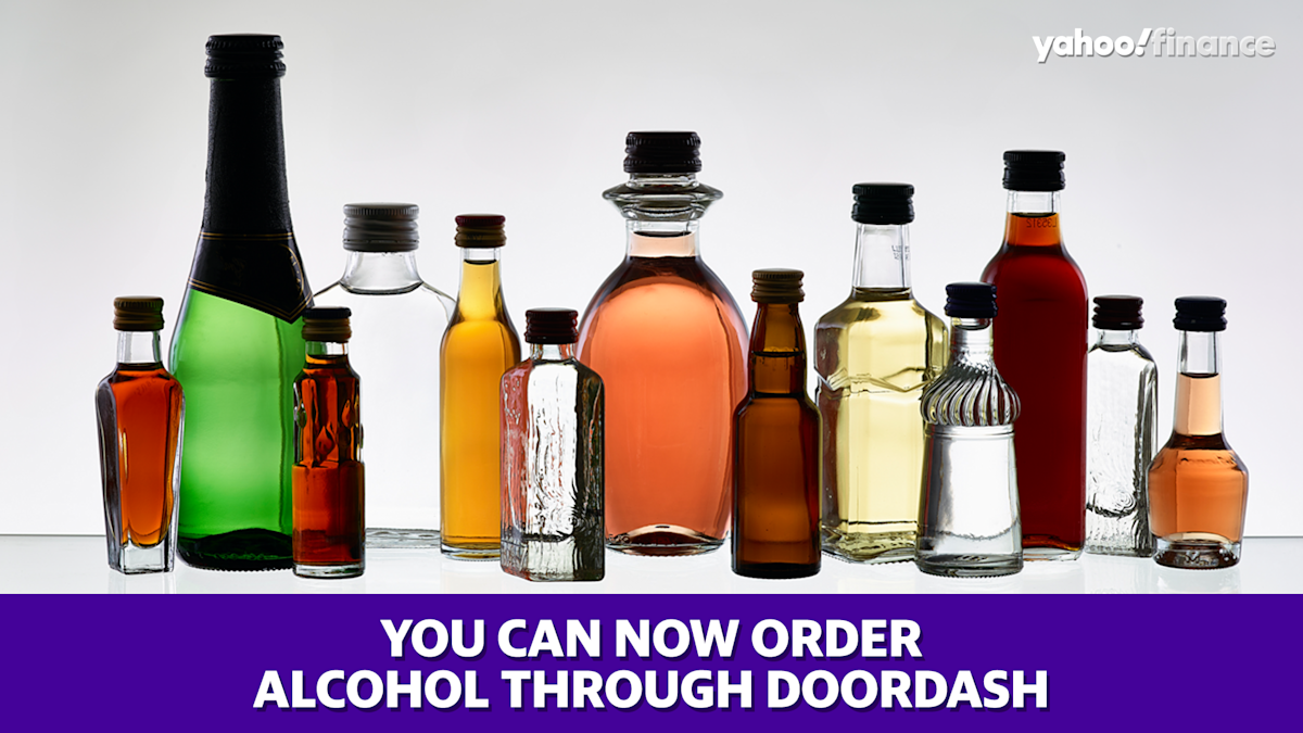 Picture - You can now order alcohol through DoorDash