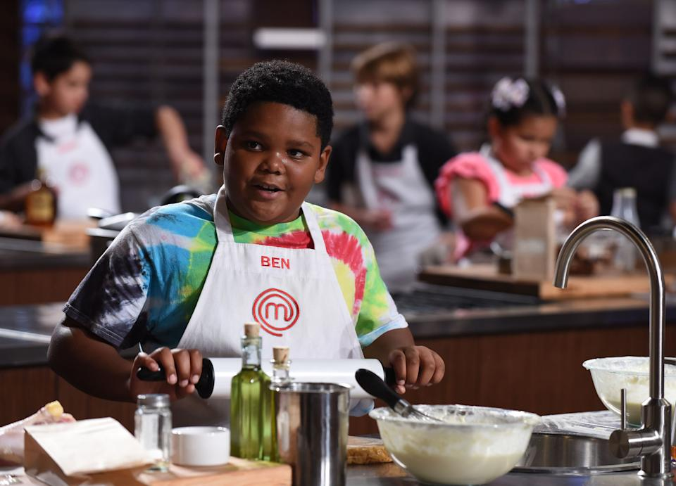 Ben Watkins on MasterChef Junior