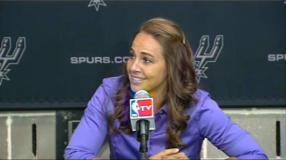 Becky Hammon's life has prepared her well to be a pioneer