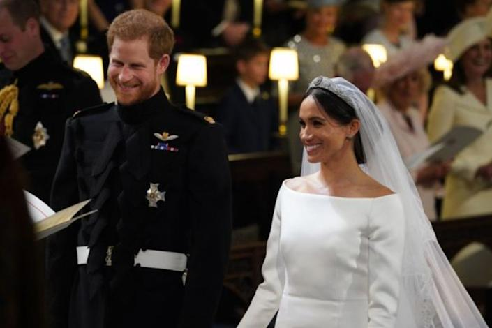 Prince Harry andMeghan Markle got marriedat St. George's Chapel at Windsor Castle on May 19, 2018. Meghan revealed that the couple had a private marriage ceremony three days prior. (Photo: Getty)