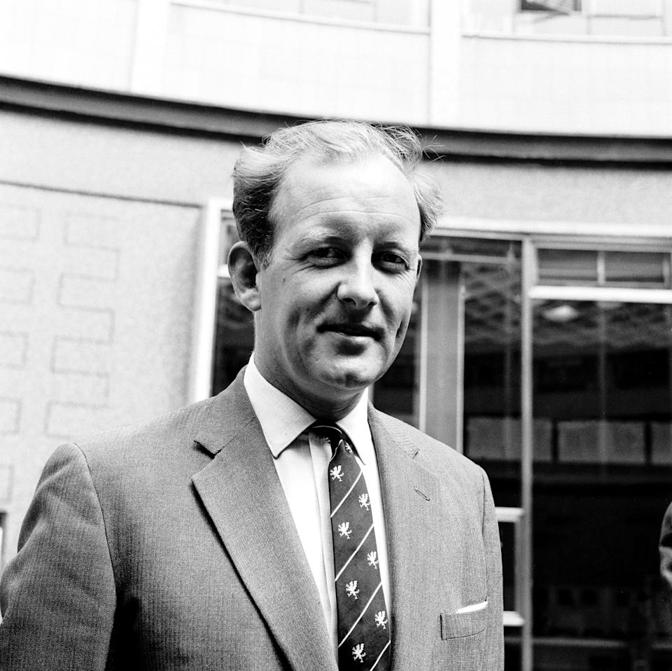 Frank Bough, BBC Commentator (Photo by Barratts/PA Images via Getty Images)