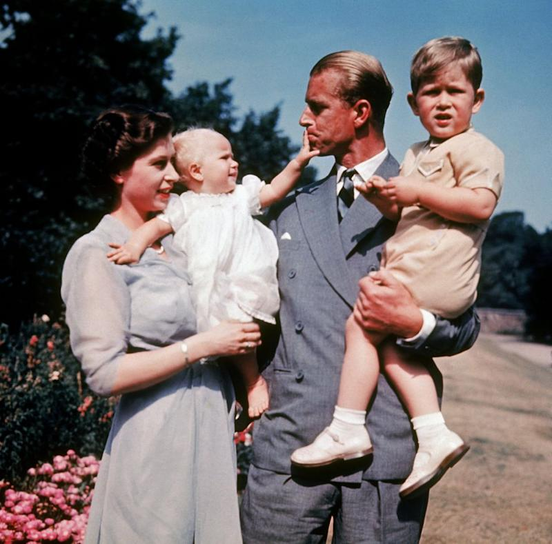 Monday will mark 70 years married for the royal couple, they are the first British monarchs to reach 70 years together. They are pictured together here with their children Charles and Anne in 1951. Photo: Getty
