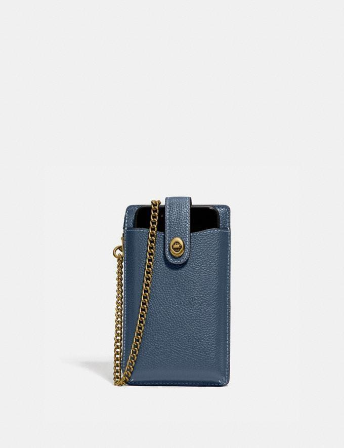 <p>Stepping out? Throw your phone and essentials in this <span>Turnlock Chain Phone Crossbody</span> ($150).</p>
