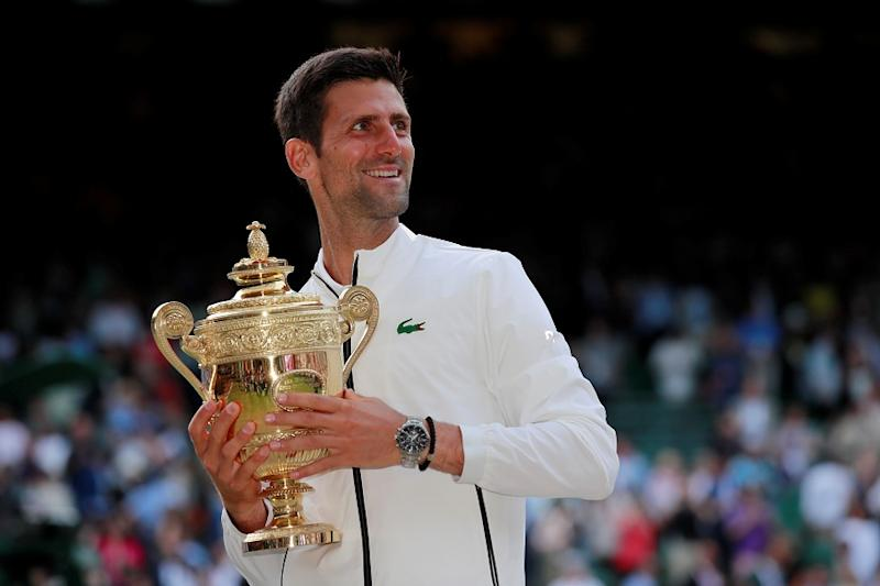 Wimbledon 2019 Champion Novak Djokovic Consolidates Top Spot in ATP Rankings