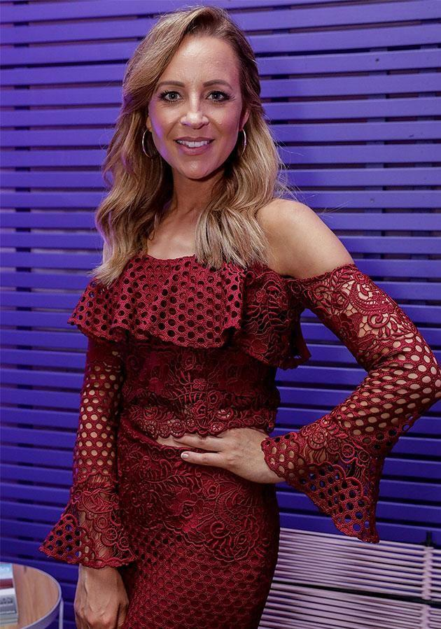 Carrie Bickmore admits she wonders what other mums are thinking about. Source: Getty