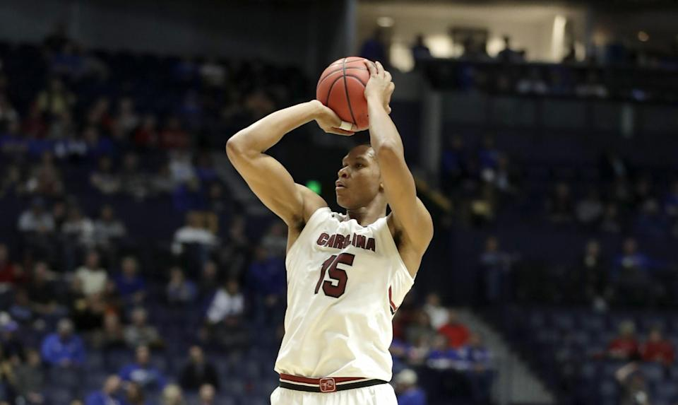 P.J. Dozier averaged 13.8 points, 4.8 rebounds, 2.8 assists and 1.6 steals per game as a sophomore. (Getty)