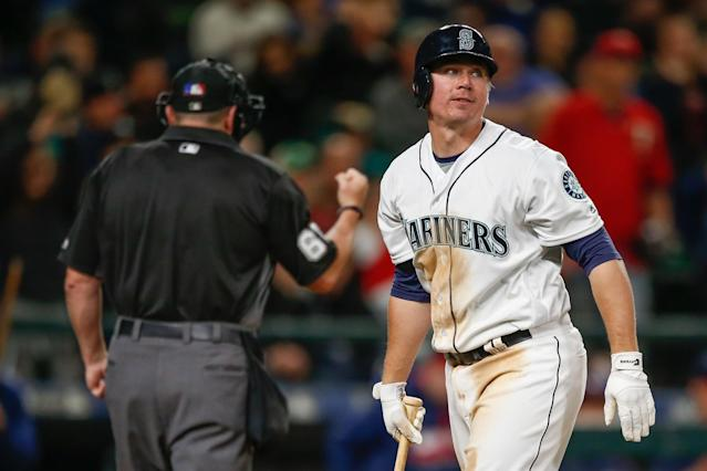Former MLB catcher Steve Clevenger is sorry for his incendiary and insensitive tweets around the Charlotte protests. (Getty Images)