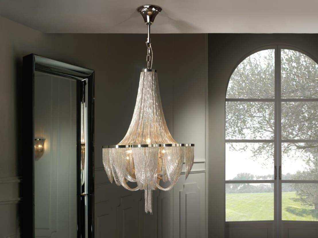 <p>We don't think that you'll ever set foot in a staggering home that doesn't have at least one really 'out there' design choice. A common choice is a fantastically opulent statement light fixture and we don't know about you, but we don't need much more convincing to hang a crystal chandelier...in an unusual place!</p>  Credits: homify / The Lighting Store