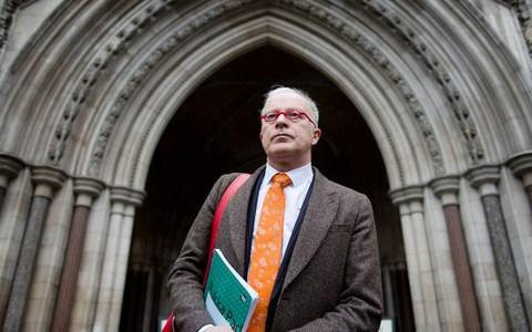 Phil Shiner of Public Interest Lawyers - Credit: LEON NEAL/AFP