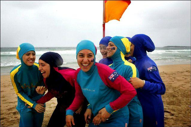 Women in burkinis often attract more attention then they want, said lawyer Yusra Metwally. Source: AAP