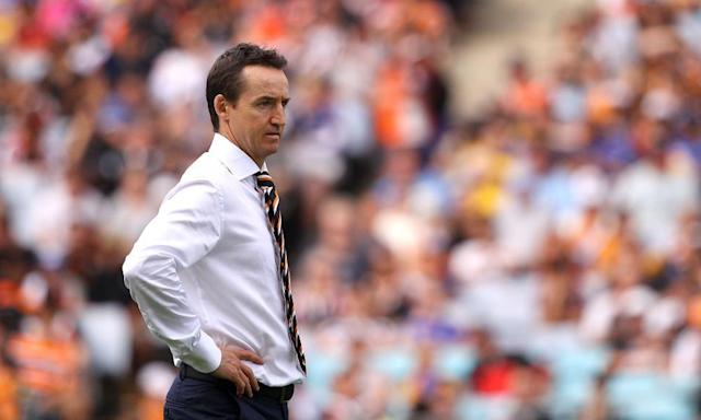 """<span class=""""element-image__caption"""">Jason Taylor was sacked by Wests Tigers after overseeing 20 wins and 31 defeats since taking over at the start of the 2015 season.</span> <span class=""""element-image__credit"""">Photograph: Matt Blyth/Getty Images</span>"""