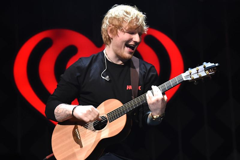 Film: Sheeran is reportedly set to feature in the new movie