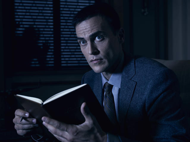 """Cheyenne Jackson as Dr. Vincent. in """"American Horror Story: Cult."""""""