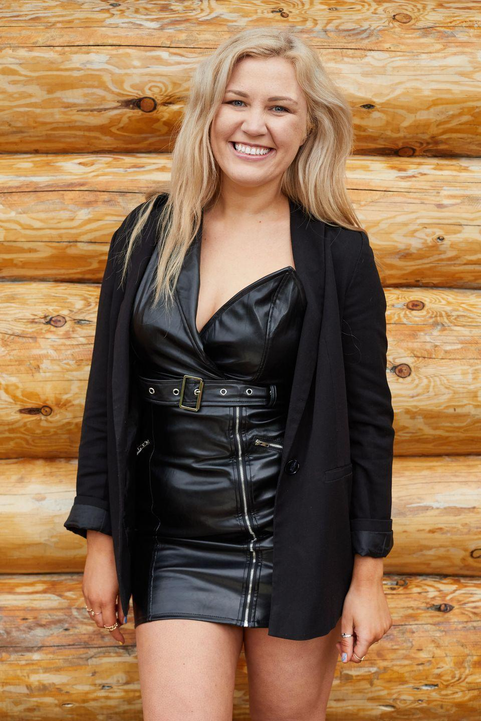 "<p>Charlotte is a 29-year-old operations manager from Stafford. </p><p>Asked what she's looking for in a Cabins partner, Charlotte said: ""I want to have a really fun time and have a laugh and just be at ease and comfortable around them. And maybe get a bit romantic.""</p><p>Revealing her celebrity crush, she teased: ""Jennifer Lawrence. She's so witty and quick. She's attractive anyway, but she becomes so much more attractive because her personality is just hilarious.""</p>"